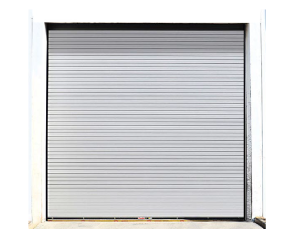 Advanced rolling steel service doors. Stormtite AP Model 627 & RapidSlat in Lake County Indiana and Porter County.