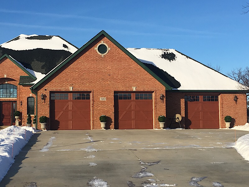 Carriage Style Garage Doors Munster 2