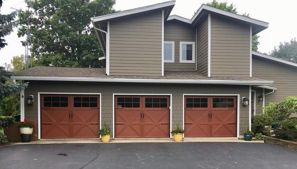 Carriage Style Overhead Garage Door Valparaiso