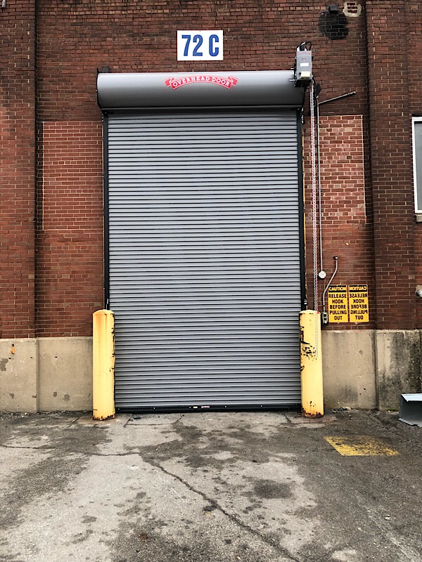 Commercial Steel Rollup Garage Door repair installation northwest indiana